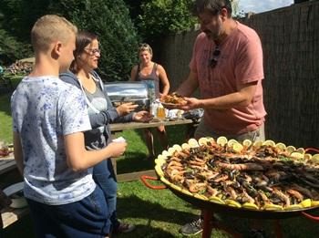 Summer BBQs at the Woodman Pub, Chapmore End
