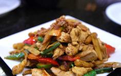 Thai Curry at The Woodman Pub